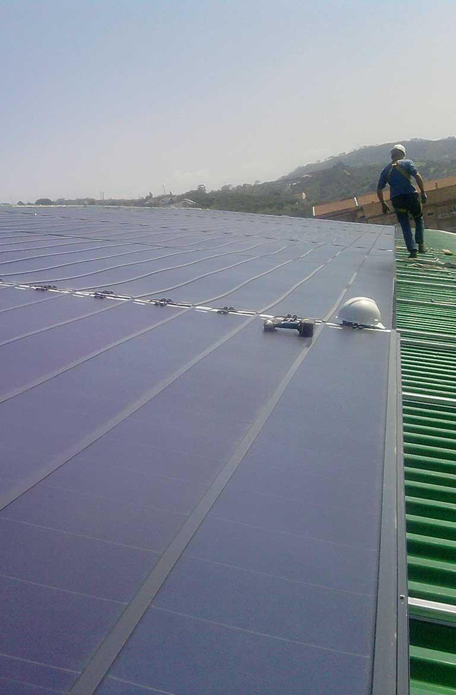 impianto fotovoltaico palazzetto agropoli