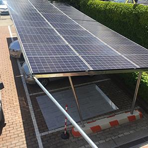 particolare impianti fotovoltaici